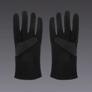 Guanti in cotone - in nero