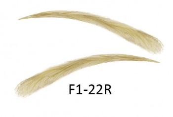 Soracciglia semi-permanenti 100% naturali - fatto a mano, F1-22R