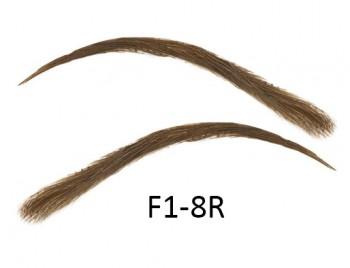 Soracciglia semi-permanenti 100% naturali - fatto a mano, F1-8R