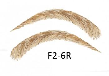 Soracciglia semi-permanenti 100% naturali - fatto a mano, F2-6R