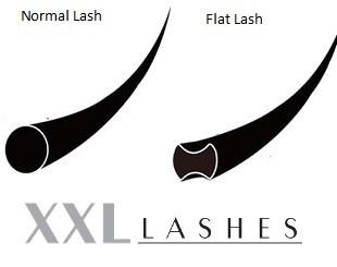 Ciglia Flat Ellipse, Ciglia Sottili / C- & D- Curl / 0.15-0,20 mm / scatola con lunghezze miste da 7-13 mm