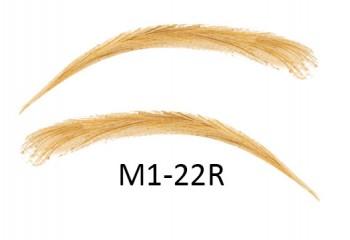 Soracciglia semi-permanenti 100% naturali - fatto a mano, M1-22R