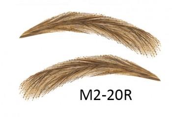 Soracciglia semi-permanenti 100% naturali - fatto a mano, M2-20R