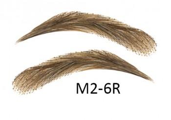 Soracciglia semi-permanenti 100% naturali - fatto a mano, M2-6R