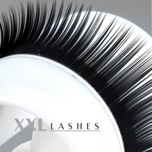 Mink Lashes - Silk Lashes  | Diametro 0,15 mm | Lunghezza 14 mm | J-Curl