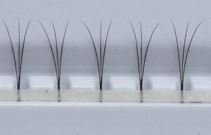 Ciglia W - 300 pz | Diametro 0,10 mm | Lunghezza 11 mm | C-Curl