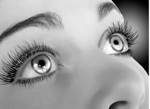 Foto grandezza poster - questi occhi non passano inosservati