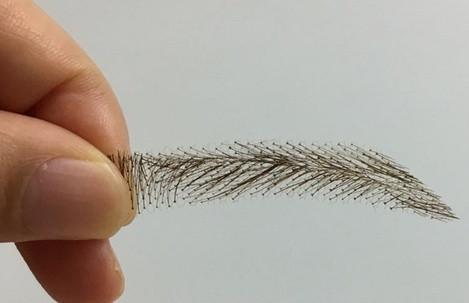 Sopracciglia semi-permanenti 100% naturali - fatto a mano