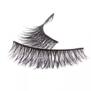 Handmade natural hair Mink Strip Lashes - Model 3