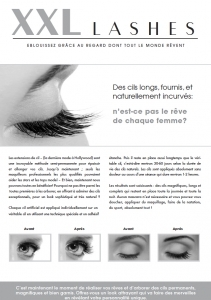 "100 Stk. Promotion Flyer A5 - ""occhio"" - francese"