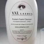 Schiuma struccante XXL Lashes, Shampoo per ciglia, oil ed alcol free Detergente schiuma ciglia - 200 ml dimensioni Salon