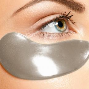 Pad per gli occhi di Carbone in Idrogel, 5x2 Pads