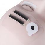 3 cuscinetti in silicone riutilizzabili, flessibili, lavabili, con forti proprietà adesive, palette per ciglia, palette per fronte
